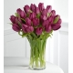 25 purple tulips Send To Philippines